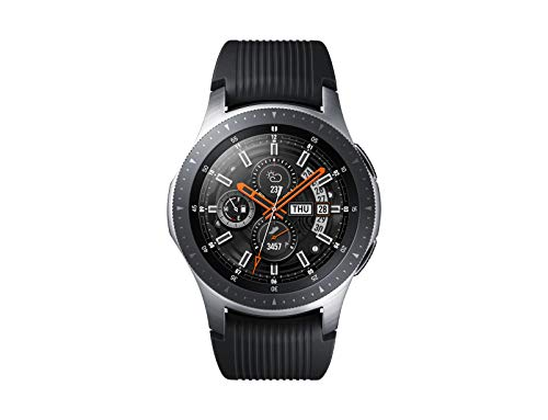 SAMSUNG Galaxy Watch 46mm smartwatch Argento SAMOLED 3,3 cm (1.3') GPS (satellitare), metallizzato