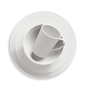 Lenox 4-Piece Entertain 365 Surface Round Place Setting, White