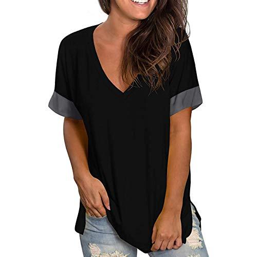 Camisa En V Mujer  marca Padaleks