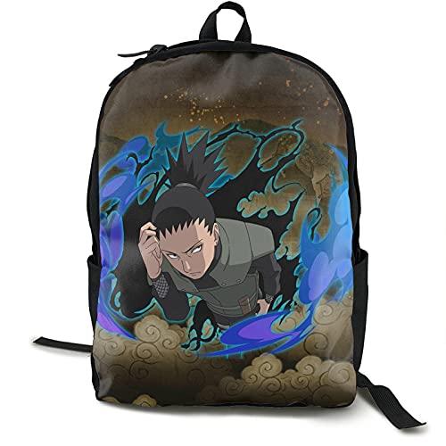 Ultimate Ninja Blazing Wikia - Mochila escolar ligera, resistente al agua, mochila informal