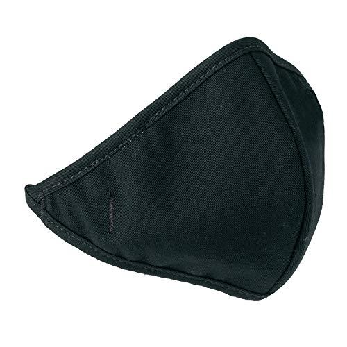 Ergodyne N-Ferno 6870 2-Layer Hook & Loop Closure Winter Liner Mouth Piece, Black