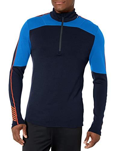 Helly Hansen HH LIFA Merino 1/2 Zip Camiseta, Azul (Azul Electrico 639),...