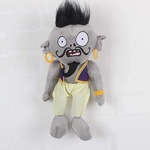 Btttqd Plants Vs. Zombies Plush Toy 30 Cm, Pvz Character Magic Light Zombie Plush Toy Gift