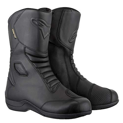 Alpinestars Botas de moto Web Goretex, color negro, talla 45