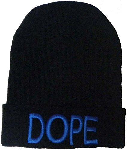 """Neuf Intensifiez Tricotez Winter Woolly Matériau mixte """"Dope et Swag"""" Bonnet Chapeaux - - Taille unique"""