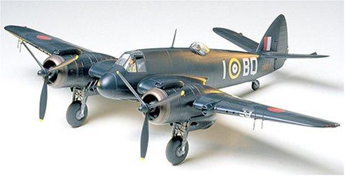 タミヤ 1/48 傑作機シリーズ No.64 イギリス空軍 ブリストル ボーファイターMk.VI 夜間戦闘機 プラモデル 6...