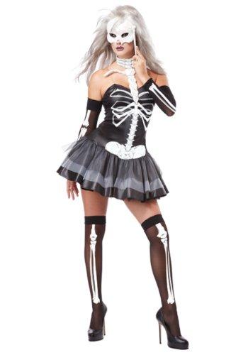 California Costume - CS97500/S -Costume robe squelette taille s