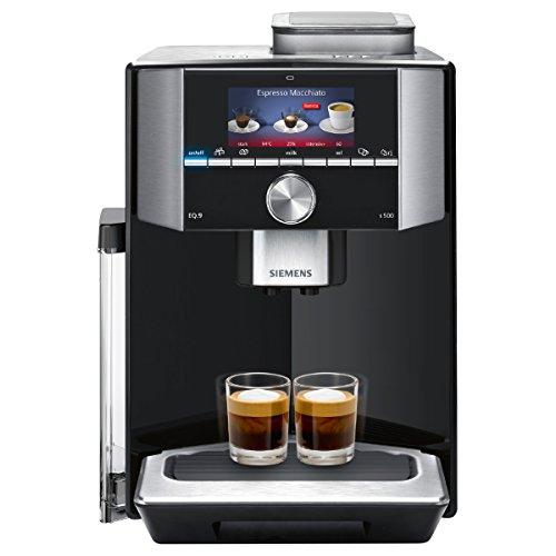 Siemens TI915539DE EQ.9 s500 Kaffeevollautomat (1500 Watt, maximales Aroma, vollautomatische Dampfreinigung, Abschaltautomatik, sehr leise, iAroma) schwarz