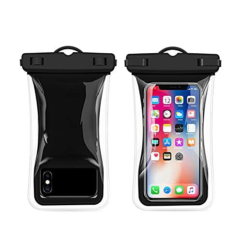 Funda impermeable para teléfono móvil, 1 unidad, 7,0 pulgadas, IPX8, 30 m, resistente al agua, para nadar y tomar fotos bajo el agua, para iPhone 11/12/12 Pro, Samsung, Huawei, etc.