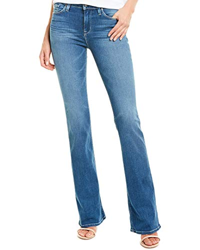 HUDSON Women's Drew Mid Rise Boot Cut Jeans