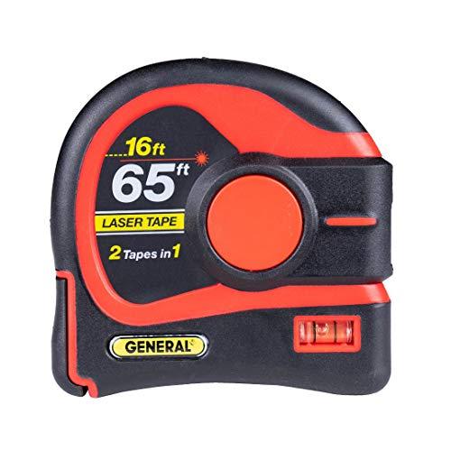 General Tools LTM3X-RD-Q Laser Tape Measu