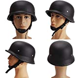 QYHT Sommer Motorrad Retro Helm, Mode Harley Motorrad Helm, DOT, ECE, CNS, ABN...