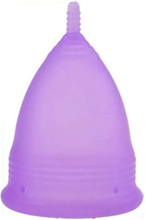 YGZ Camiseta de copa menstrual de silicona elástica suave y ...