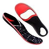Jior Solette ortopediche per uomo e donna, solette per scarpe sportive, archi ortopedici, solette ortopediche per fasciti plantari, piedi piatti, dolori ai piedi, speroni calcaneari