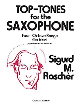 O2964 - Top-Tones for the Saxophone  Four-Octave Range