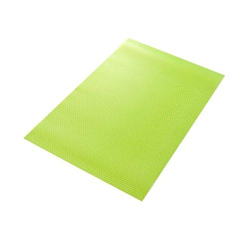 BESTOMZ 4 Stück Kühlschrank Hygiene Matten Pad Gefrierschrank Frisch Matte