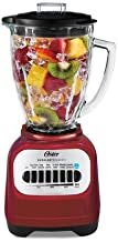 Oster Classic Series Blender with Travel Smoothie Cup - Red BLSTCG-RBG