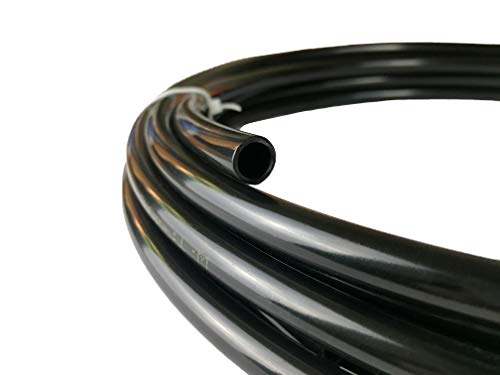 4AN Black Push Lock Hose for Fuel Oil Coolant Air 1//4 5 Feet Kraken Automotive