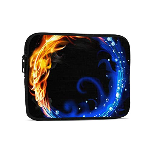 Fire and Water Tablet Bag, Premium Universal Sturdy Shockproof Laptop Sleeve, Notebook Case Protective Handbag Fit 7.9'/9.7' Tablets/Ipads/Readers
