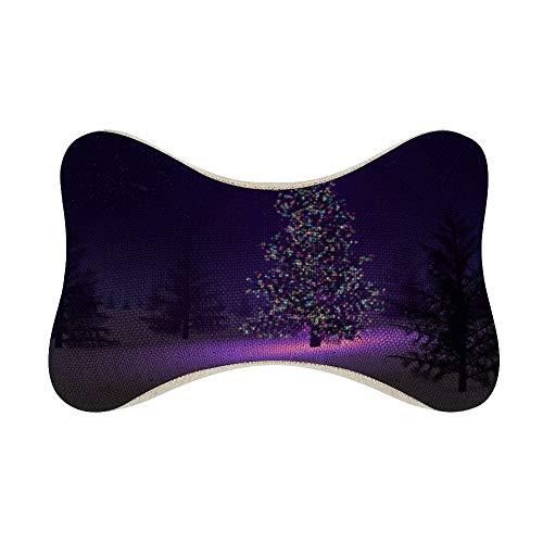 perfecone Home Improvement - Funda de almohada de algodón para sofá y coche (27 x 18 x 12 cm)