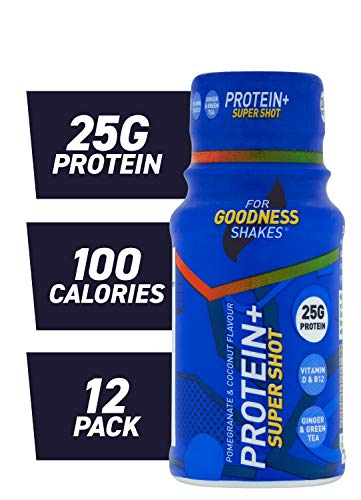 For Goodness Shakes Protein+ Super Shot, 60ml - Pack of 12