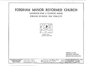 HistoricalFindings Photo: Fordham Manor Reformed Church,71 Kingsbridge Road & Reservoir Avenue,Bronx,NY,3