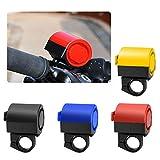 JaneDream Fahrradhupen, elektronisch, lauter Hupe, Alarm, Radsport, Sirene, Hooter, Lenker, rot, Free Size
