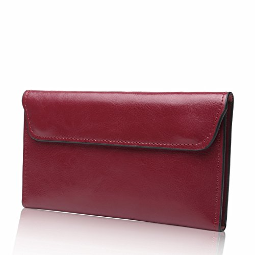 Lange dames portemonnee grote capaciteit portemonnee vrouwen Koppelingtas Multi kaart positie portemonnee