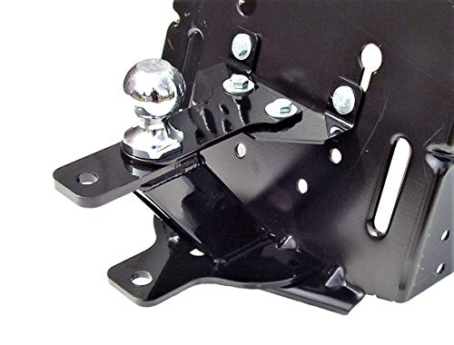 P&M Fabrication 3 Way Lawn Garden Tractor Hitch for Husqvarna
