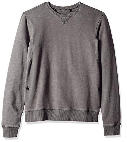 Buffalo David Bitton Herren FIDOBLE Sweatshirt, Light Charcoal, Klein