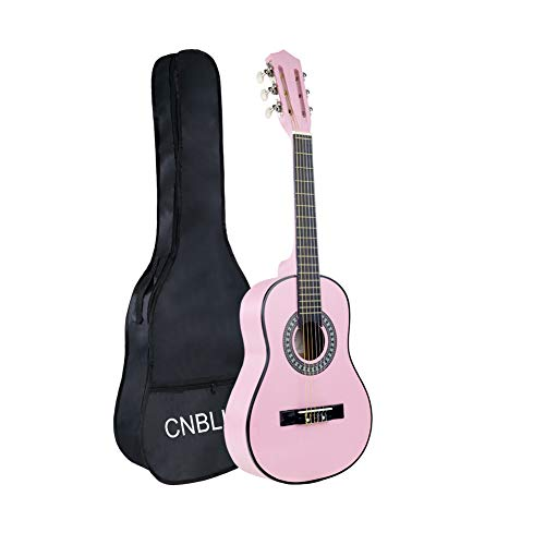 Kid Beginner Guitar Child Classical Acoustic Guitar 1/2 Half Size 30 inch Wood Nylon Strings Guitar