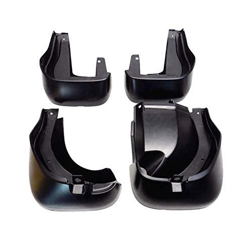 QAQA Coche Auto Mudflaps Mudguard Splash Guardsset de 4 Guardias de Salpicaduras Flaps de Barro Guardias Compatible con H-Onda CRV 2012-2016 2013 2014 2015 08P00T0A100 (Color : Black)