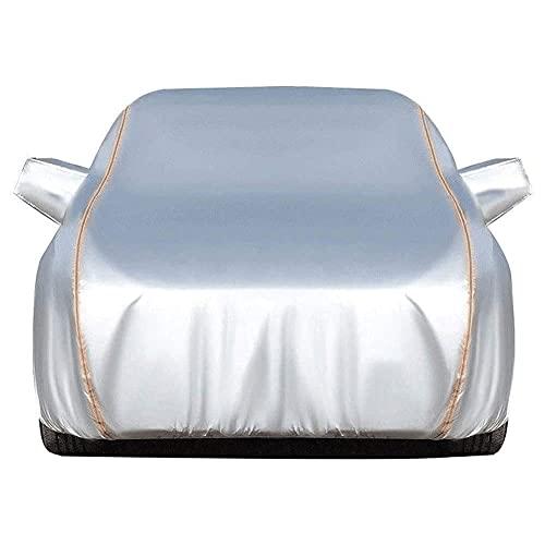 hagelschutzplane für auto Autoabdeckung Wasserdicht Atmungsaktiv Autoabdeckung Kompatibel mit Dacia Duster Logan MCV Stepway Sandero Stepway Sonnenschutz gegen Regen Schnee...