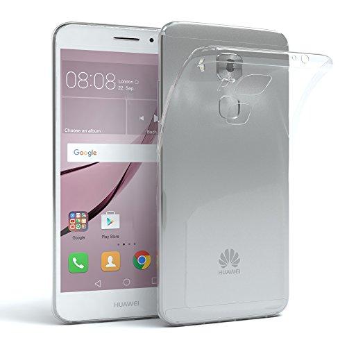 EAZY CASE Hülle kompatibel mit Huawei Nova Plus Schutzhülle Silikon, Ultra dünn, Slimcover, Handyhülle, Silikonhülle, Backcover, Durchsichtig, Klar Transparent