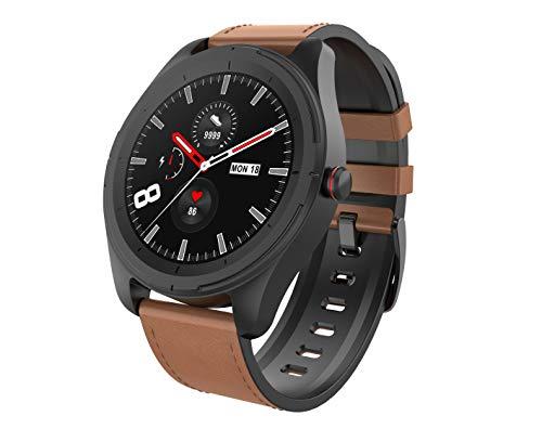 AUPALLA Smartwatch, Impermeable Reloj Inteligente con 23 Modos Deportivos, Pulsómetro, Oxigeno(SpO2), Cronómetro, Podómetro, Monitor de Sueño, Contador de Caloría Pulsera Actividad Mujer Hombre