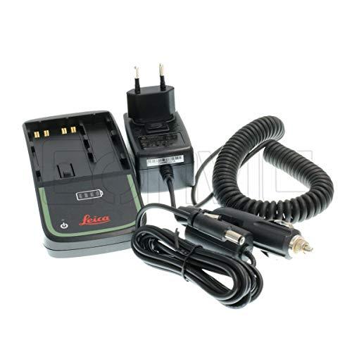 Eonvic GKL311 - Cargador Doble para batería Leica GEB211 GEB212 GEB221 GEB222...