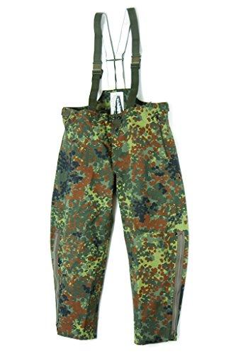 A. Blöchel - Pantalon de Pluie Original Armée Allemande Goretex - Camouflage, 56/58
