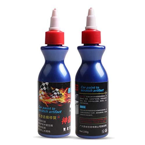 Reuvv One Glide Removedor de arañazos para Coche, Pintura de reparación de rayones de luz Universal para automóvil, Pintura de abolladuras, Pulido, Agentes de reparación