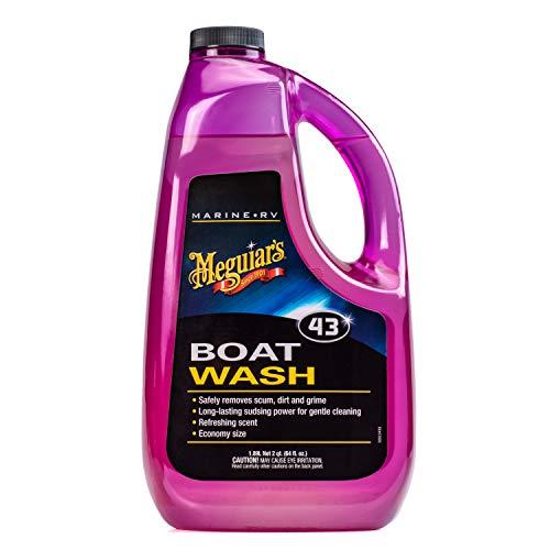 MEGUIAR'S M4364 Marine/RV Boat Wash