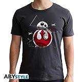 ABYstyle – Camiseta de Star Wars – BB8 E8 – Hombres – Gris...