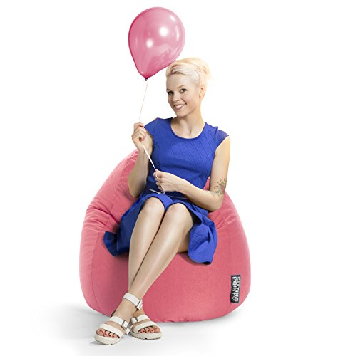 SITTING POINT only by MAGMA Sitzsack Easy XL ca. 220 Liter pink