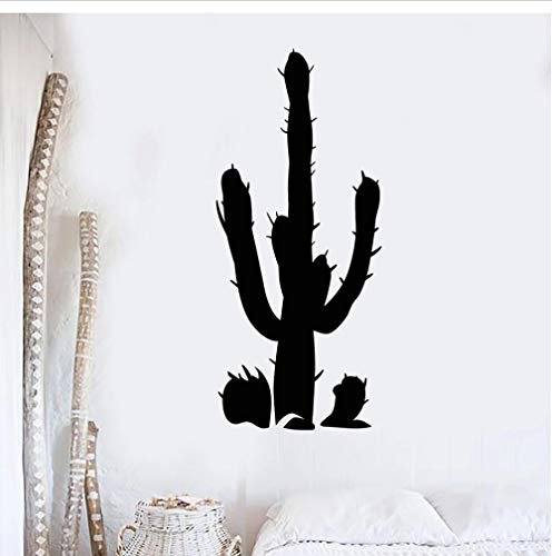 Wall Stickers,Plant desert Home Decor For Art Wall PVC DIY Living Room Carved Custom Fashion Nursery Waterproof Self-sticking 42x96cm