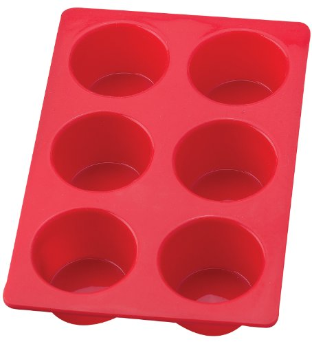 Mrs. Anderson's Silicone6-Cup Jumbo Muffin Pan