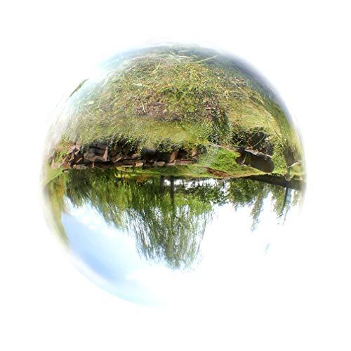 XIAKE Bola de cristal transparente para fotografía o meditación, 13 cm