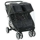 Baby Jogger - Funda para cochecito de bebé para cochecito de bebé | para City Mini 2 Double & City Mini GT2 Double & City | Bloquea la lluvia, la nieve y el viento