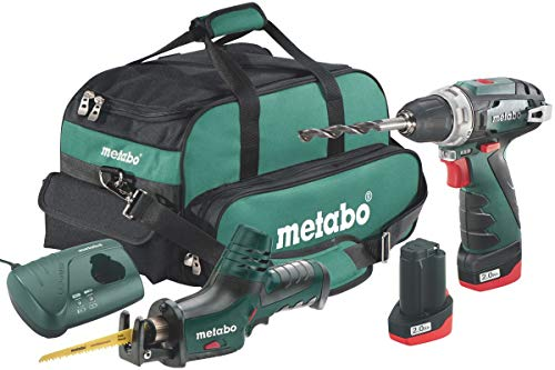 Metabo 6.85056.00 Akku-Combo Set 2.4 BS Basic + ASE