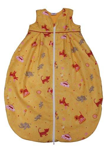Tavolinchen 35/225-0-110 - Frottierschlafsack Zirkus Größe 110 cm, orange