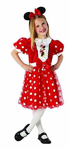Rubies IT620282-M  Disfraz de Minnie en caja, rojo, talla M