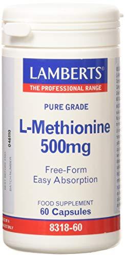 Lamberts L Metionina 500mg - 60 Cápsulas