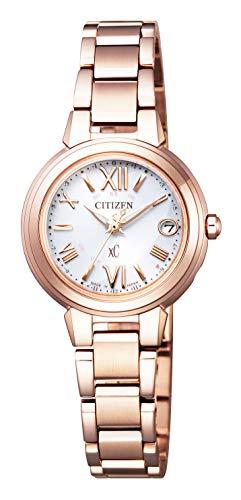 [シチズン] 腕時計 クロスシー エコ・ドライブ 電波時計 ES9435-51A レディース ピンクゴールド
